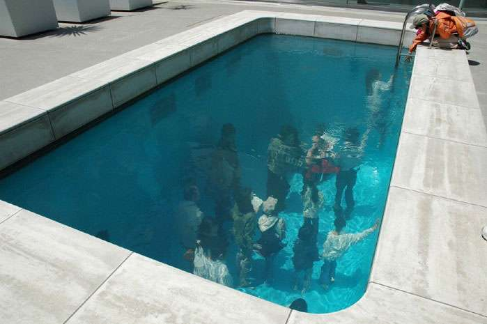 architecture mondays swimming pool illusion without water scophy